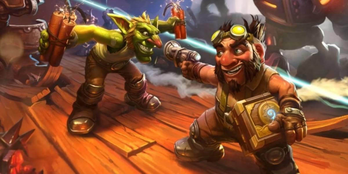Goblins vs Gnomos es la nueva expansión para Hearthstone #Blizzcon2014