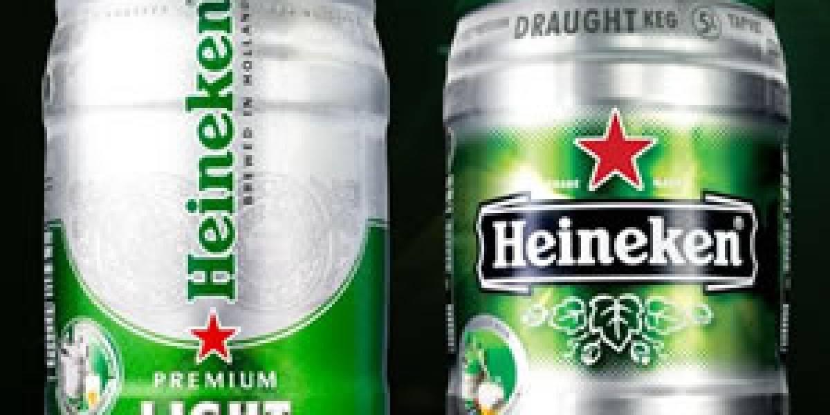 Draughtkeg de Heineken: Cerveza realmente fresca