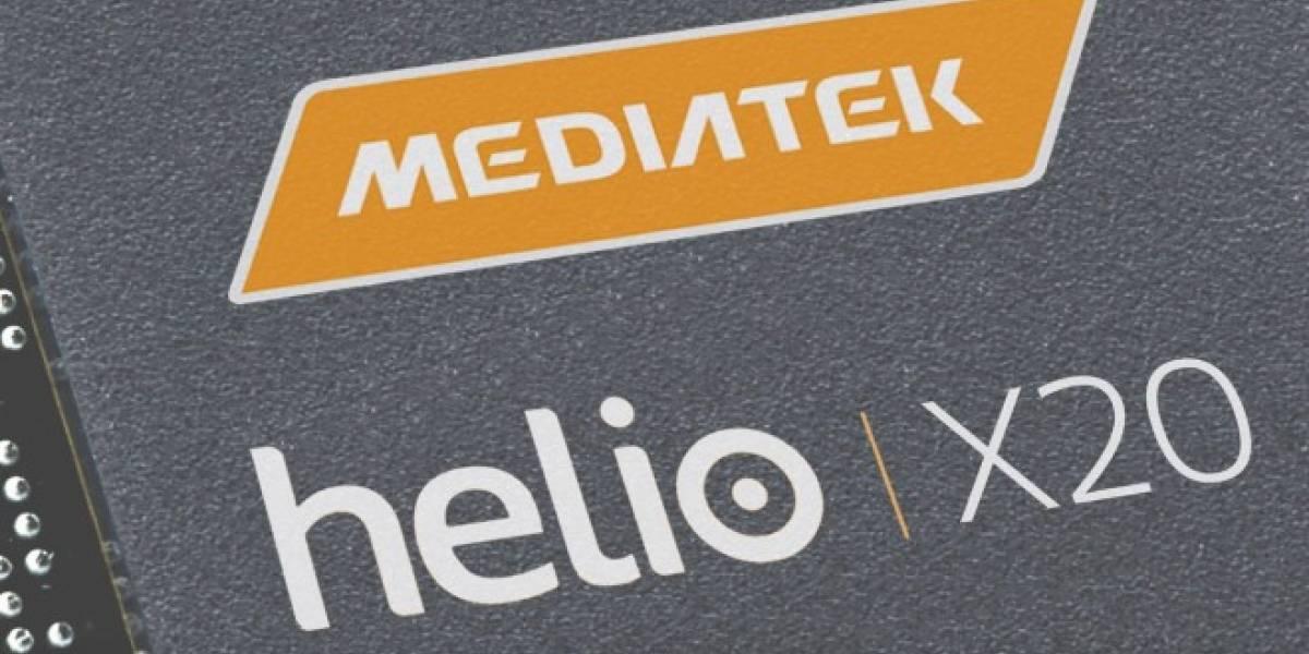 MediaTek Helio X20 es el primer procesador de diez núcleos para smartphones
