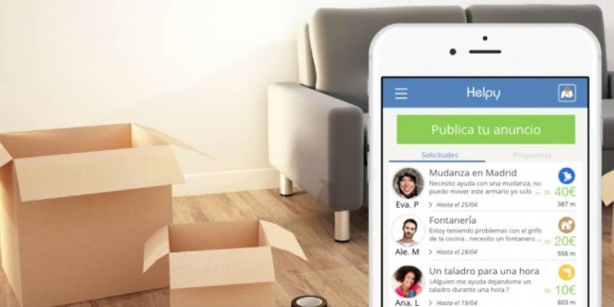 Helpy, la app que te echa una mano con lo que necesites
