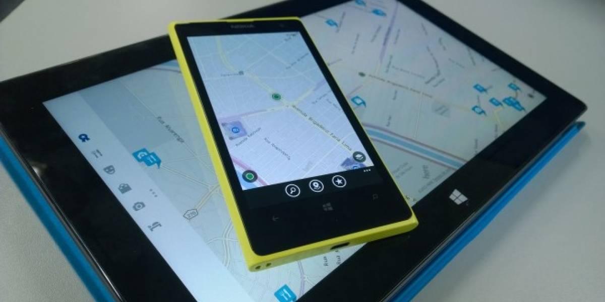 Facebook comienza a utilizar Here Maps en móviles