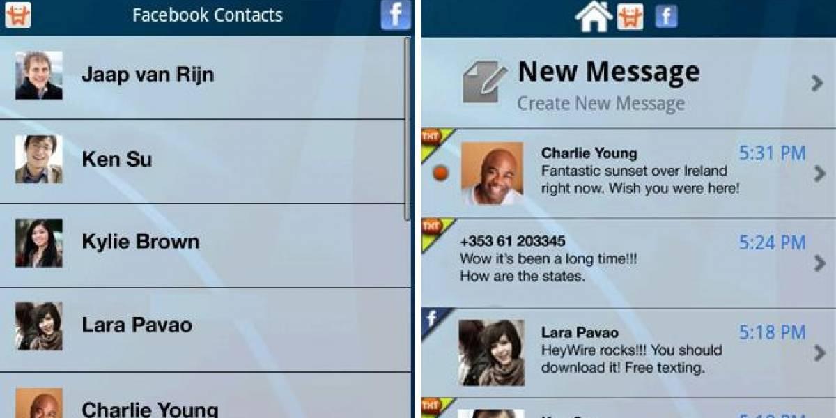 Actualizan aplicación HeyWire para Android