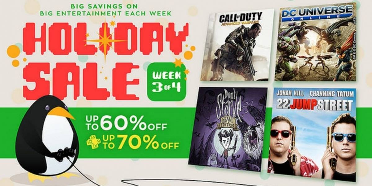 Tercera semana de ofertas navideñas en PlayStation Store