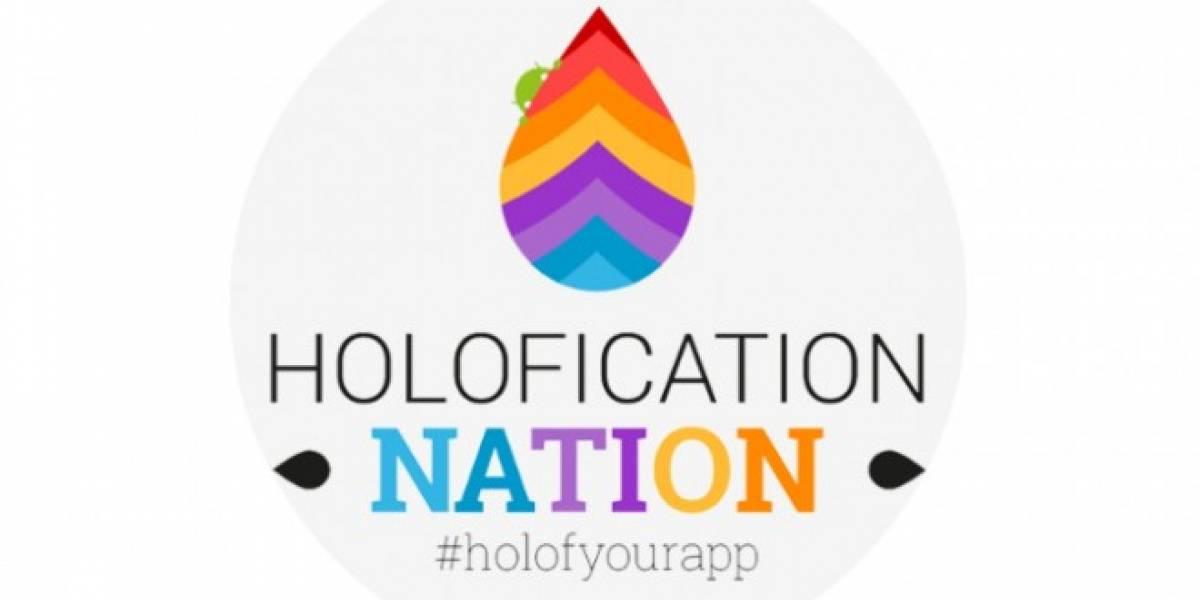El proyecto Holofication Nation para Android ya tiene su aplicación oficial