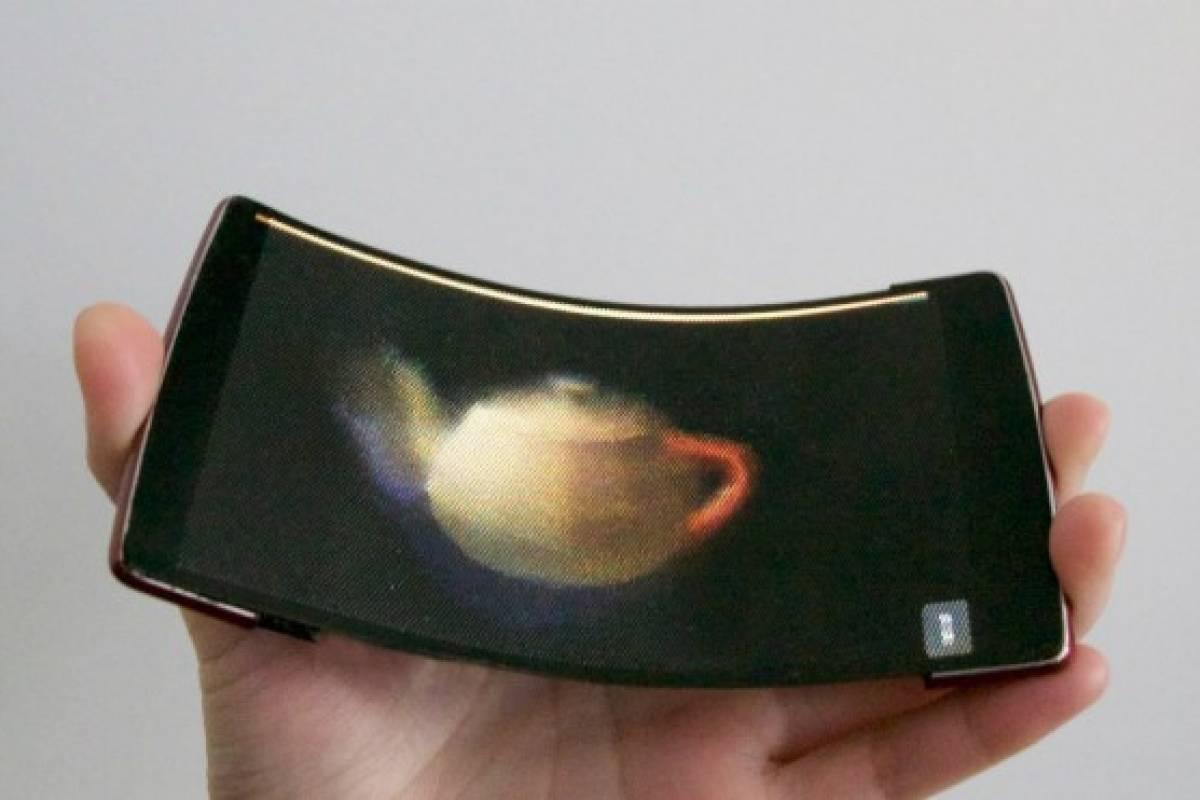 HoloFlex, el primer celular flexible con pantalla holográfica