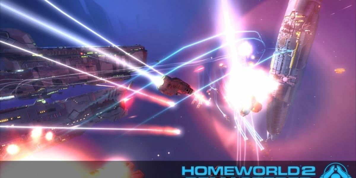 Homeworld Remastered Collection tiene tráiler a 4K