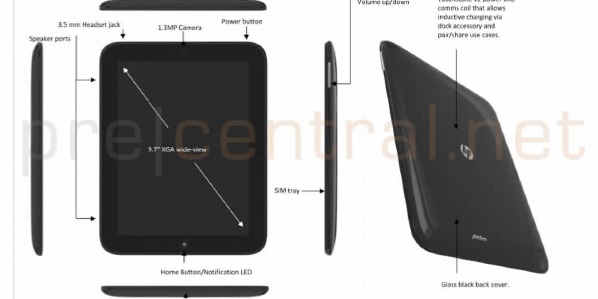 Topaz, el tablet de HP y Palm con webOS ya tiene especificaciones