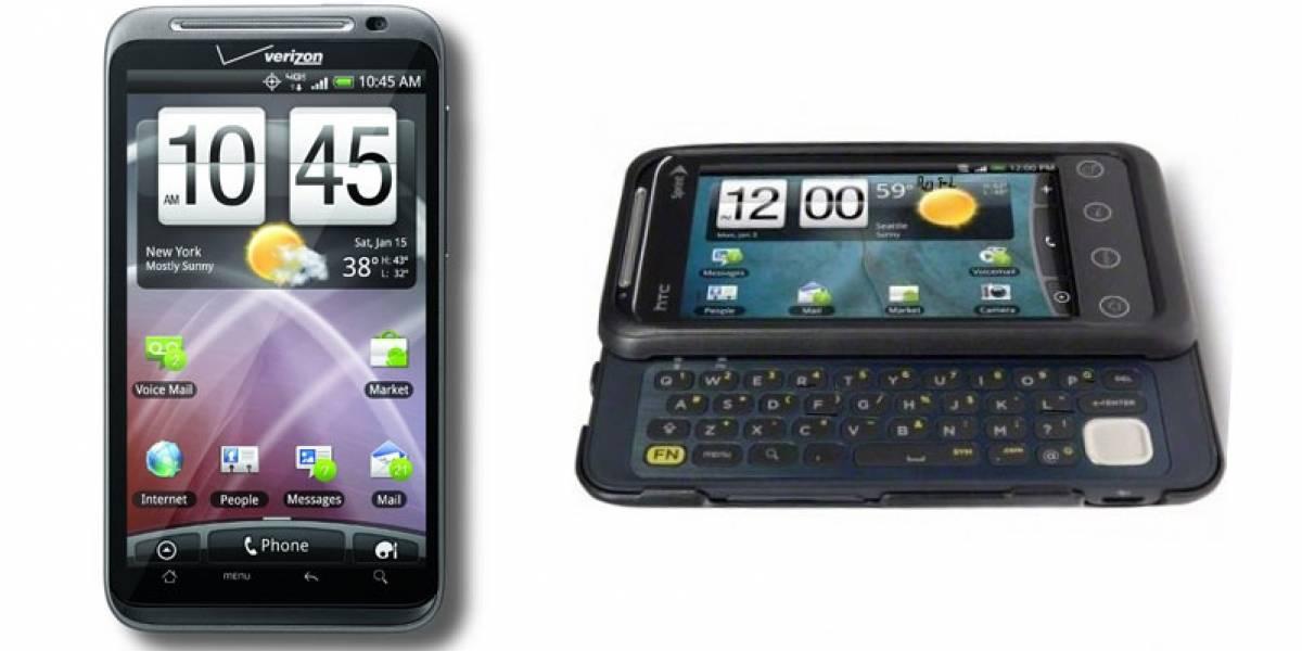 CES 2011: HTC lanza otros dos equipos 4G