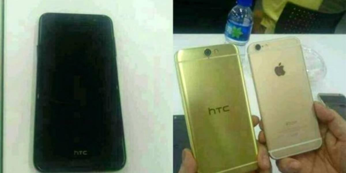 Filtran imágenes de un teléfono HTC A9 que luce similar a un iPhone 6
