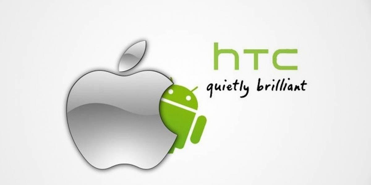 HTC prometió no copiarle a Apple en el acuerdo secreto