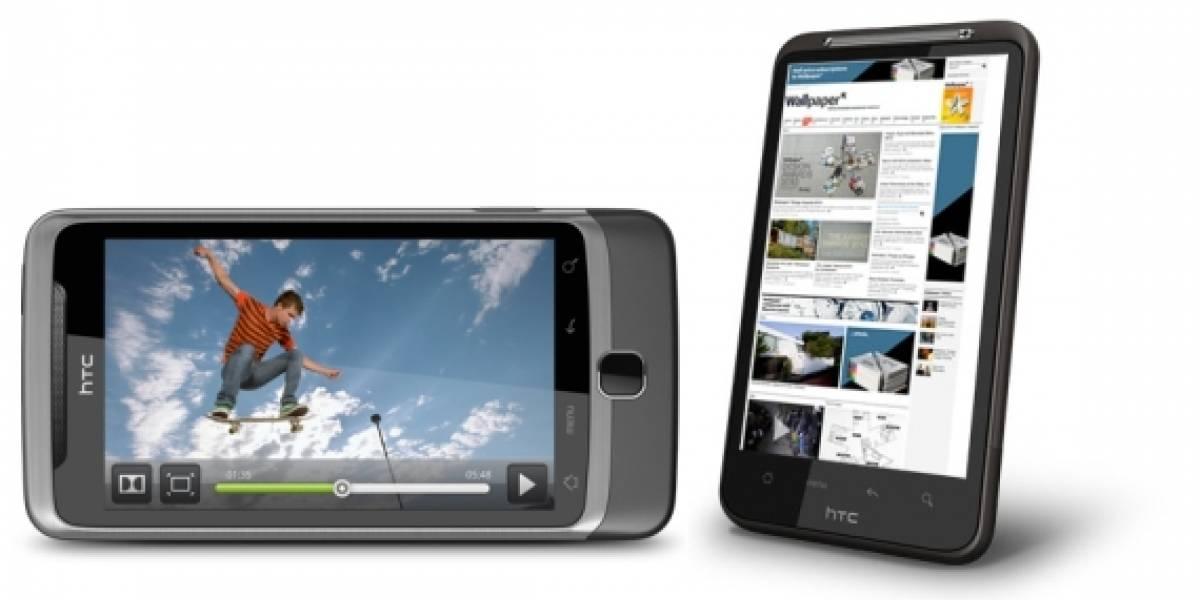 HTC Desire HD y HTC Desire Z presentados oficialmente