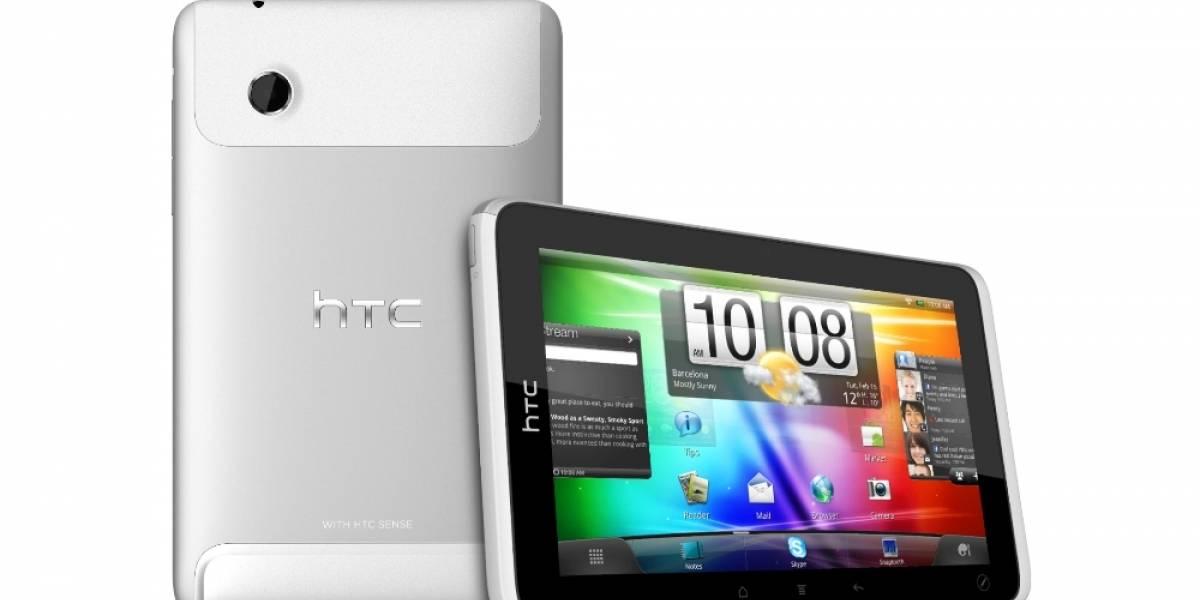 La HTC Flyer ya está disponible en España
