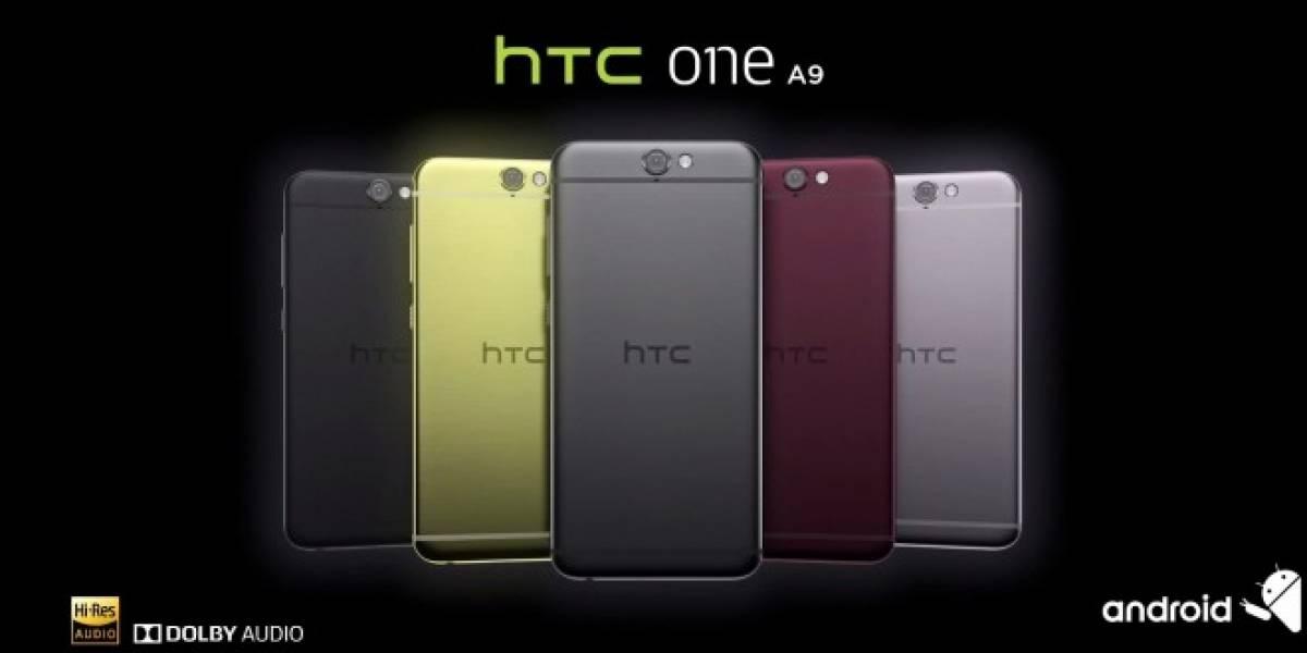 HTC presenta a su nuevo One A9 con Android 6.0 Marshmallow
