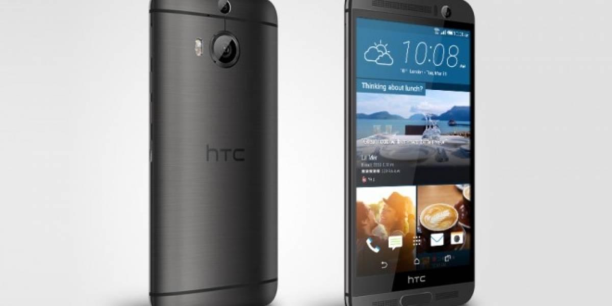 HTC anuncia el nuevo One M9+ con lector de huellas y pantalla de 5.2 pulgadas