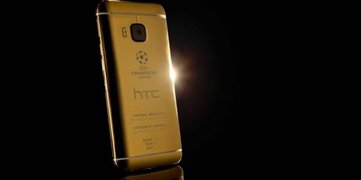 HTC lanza un One M9 para conmemorar la final de la Champions League
