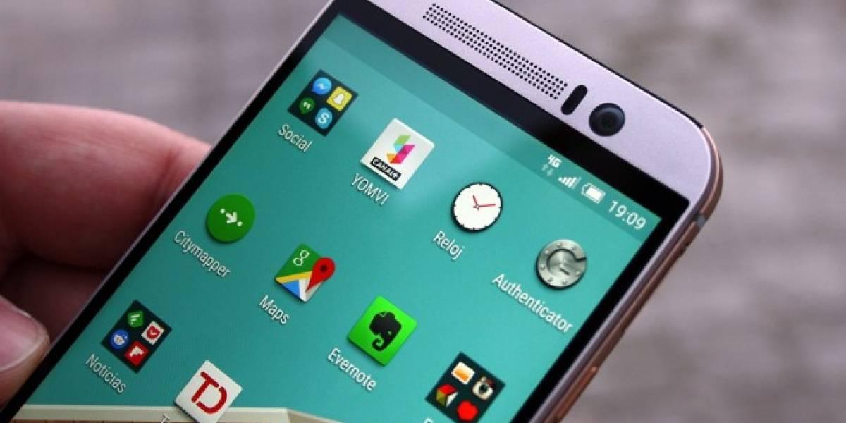 Filtran nueva versión del HTC One M9