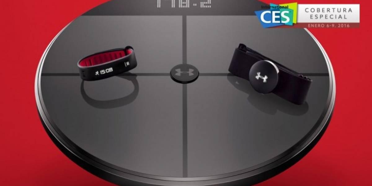 HTC anuncia sistema de acondicionamiento físico UA HealthBox #CES2016
