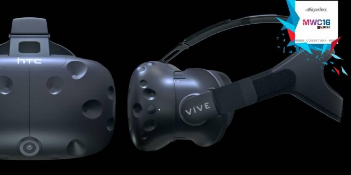 HTC Vive confirma su precio y fecha de lanzamiento #MWC16