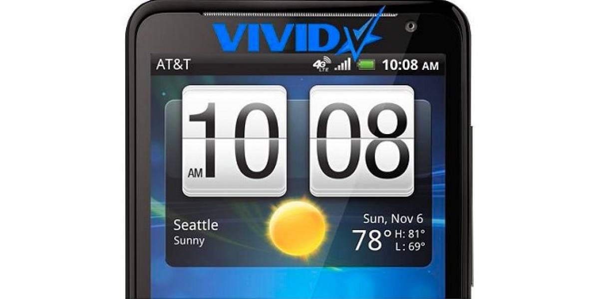 """HTC es demandado por una productora pornográfica por usar el nombre """"Vivid"""""""