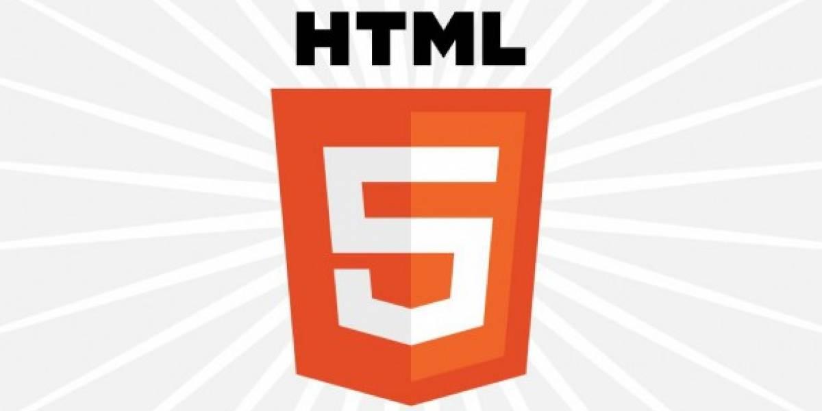 HTML5 estará listo recién en el año 2014
