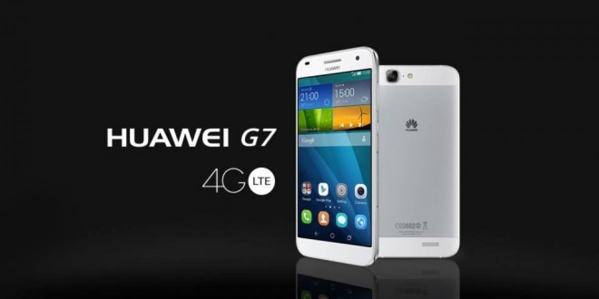 Huawei Ascend G7: tú pones las reglas