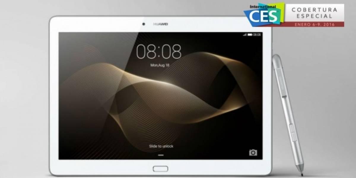 Huawei presenta la tablet MediaPad M2 #CES2016