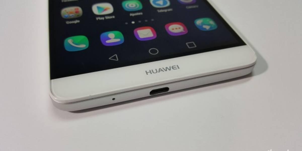 Este equipo curvado podría ser el Huawei Mate 8 que se presentará en IFA 2015