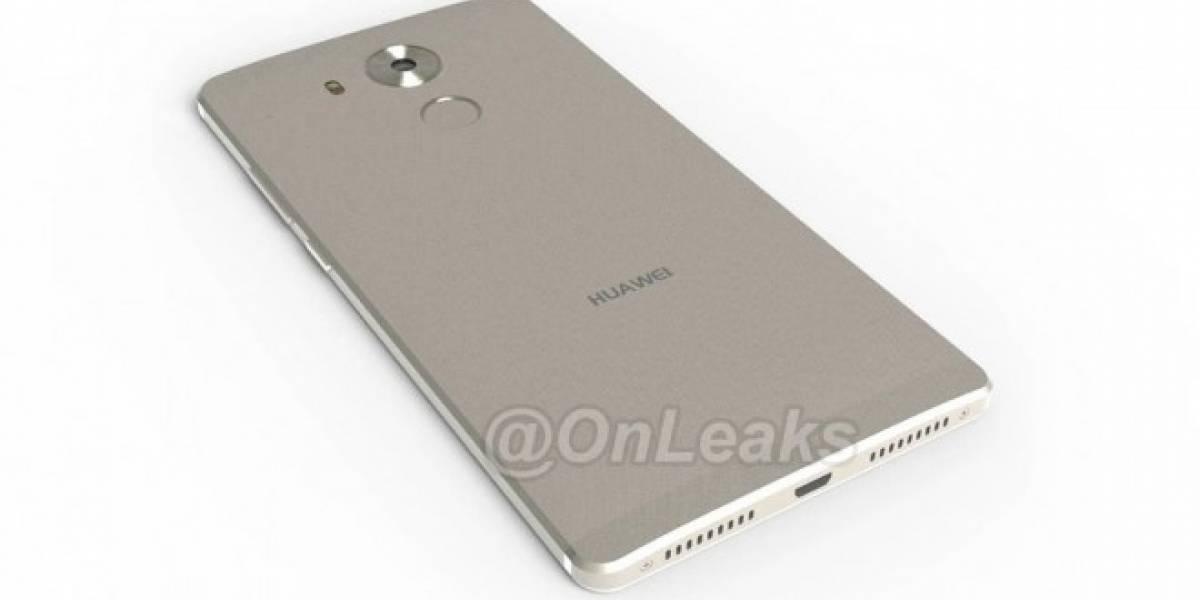 Asi sería el nuevo Huawei Mate 8