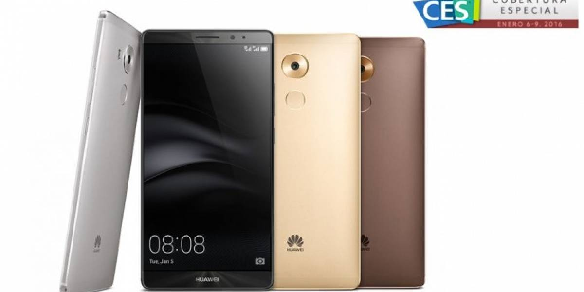 Huawei anuncia el Mate 8, su primer teléfono con chip Kirin 950 #CES2016