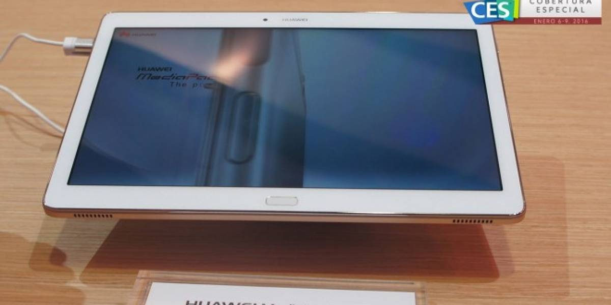 Huawei MediaPad M2 a primera vista #CES2016