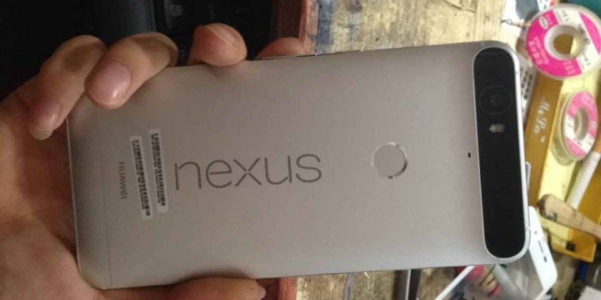 Huawei Nexus 6P tendría 128GB de almacenamiento interno