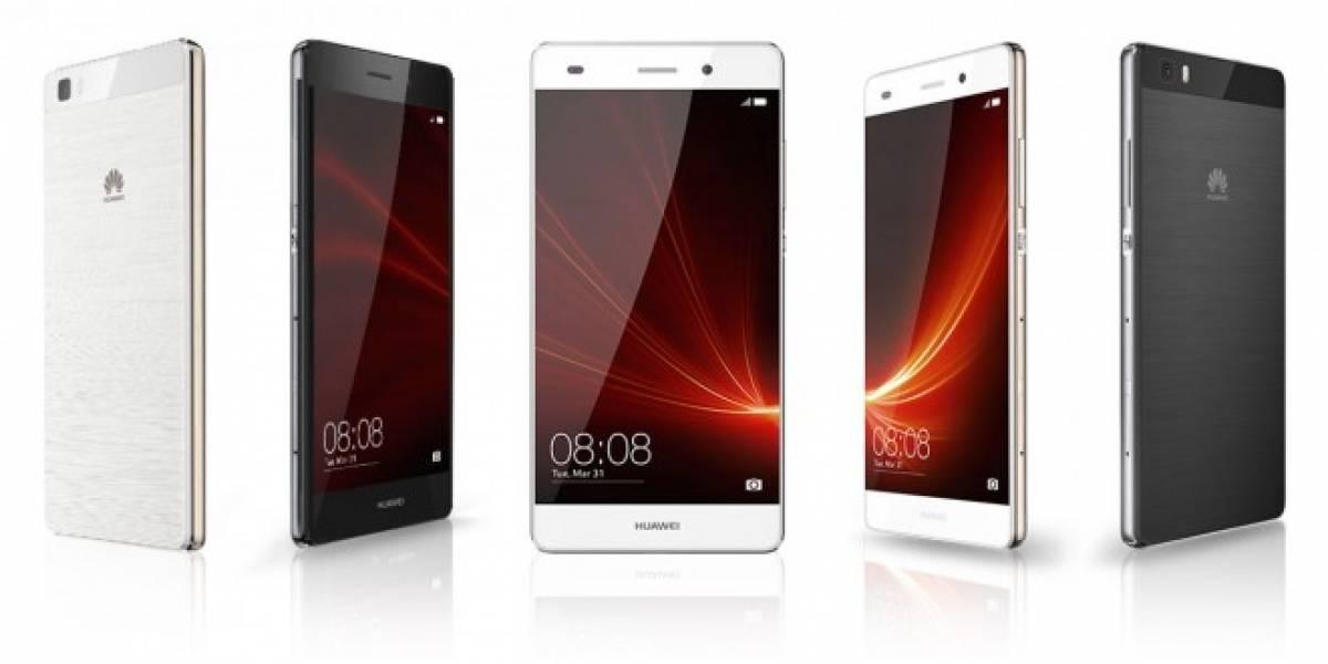 Huawei lanza el P8 Lite, un gama media que le compite al Moto G