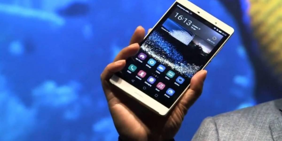 Huawei anuncia sus nuevos teléfonos P8 y P8 Max