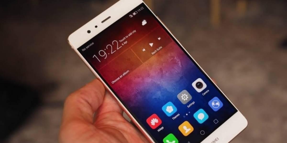 Huawei explica la tecnología repelente de líquidos del P9
