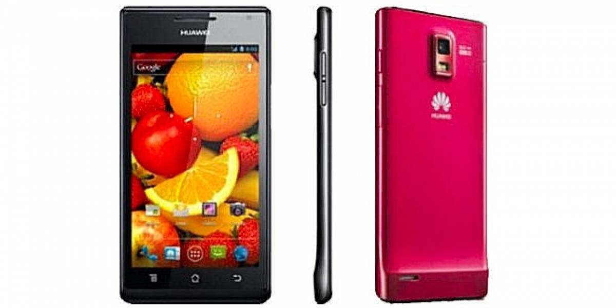 CES 2012: Huawei Ascend P1 S llega con sólo 6,68 mm de grosor