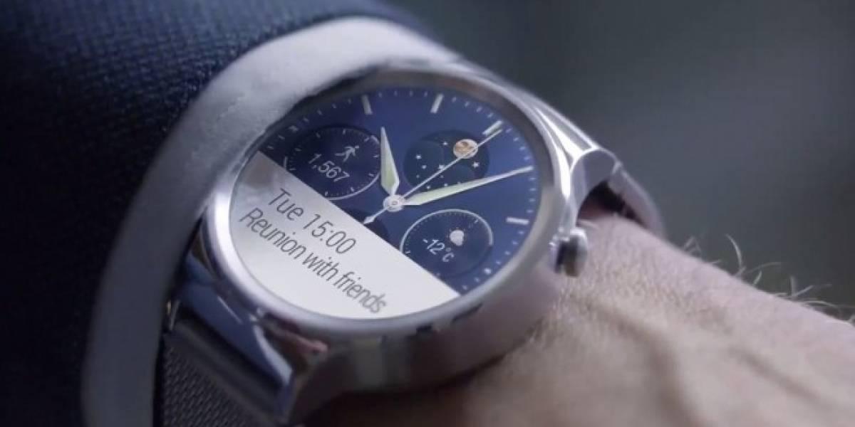 Ya puedes reservar el Huawei Watch en Amazon si vives en Chile o México [Actualizado]