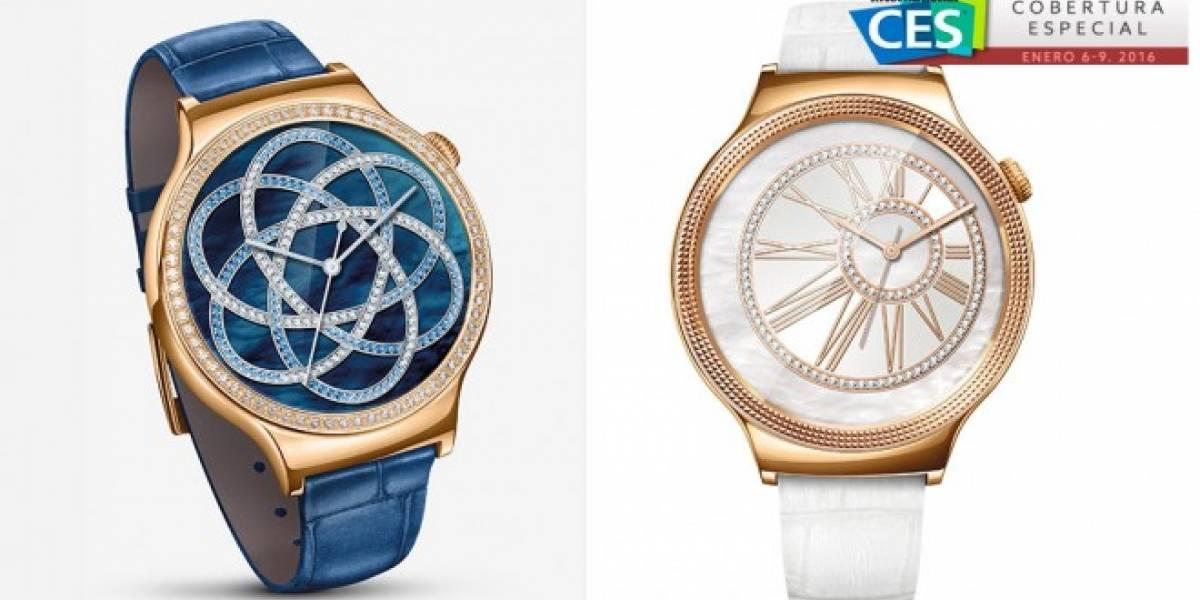Huawei Watch Jewel y Elegant son dos relojes de lujo #CES2016