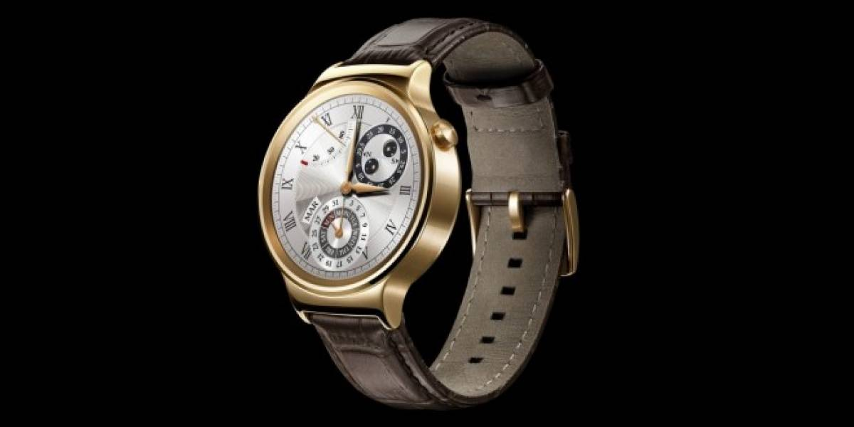 Huawei Watch costaría USD $1000