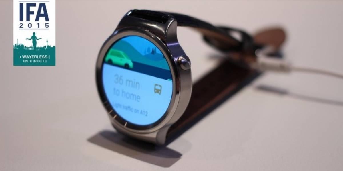 Huawei Watch vuelve a estar disponible en preventa para comprar desde México y Chile #IFA15