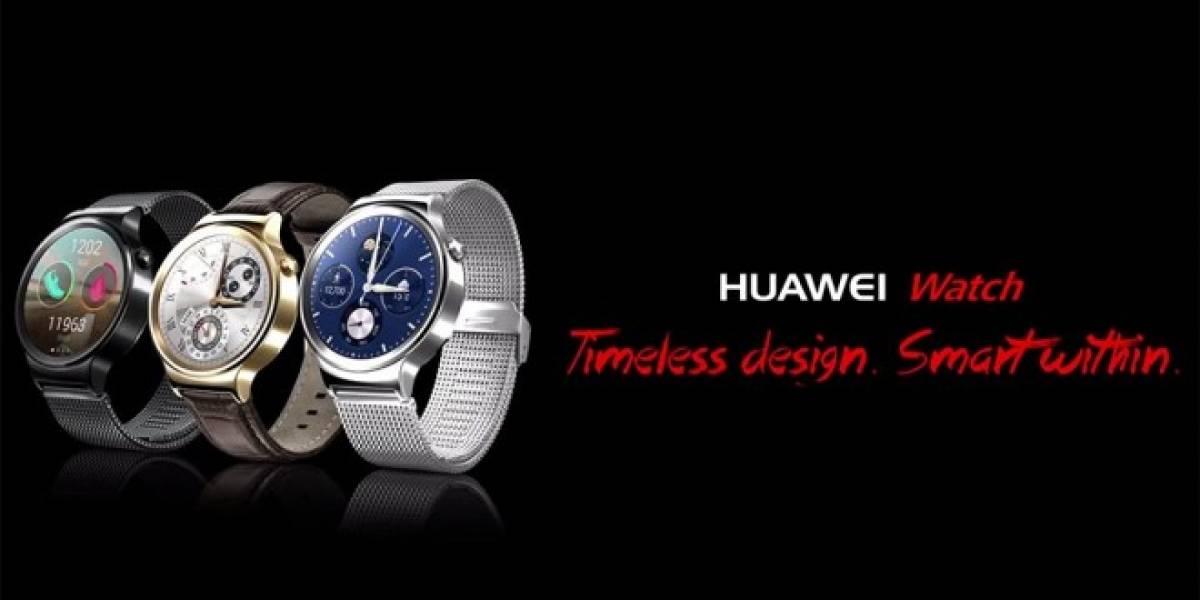 Huawei Watch ya tiene fecha de lanzamiento y precio