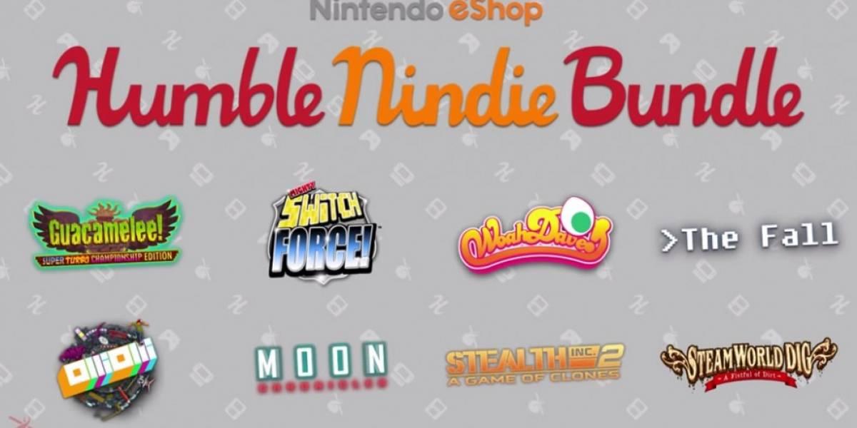 Se anunció el primer Humble Bundle de Nintendo