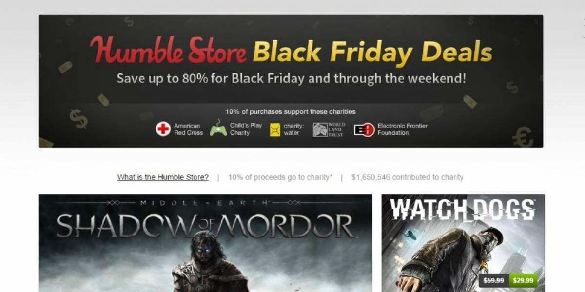 Humble Store también tiene venta especial por el Black Friday