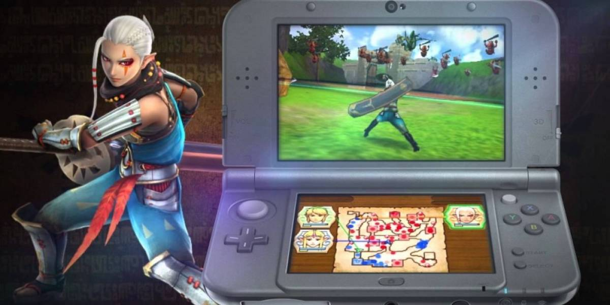 Hyrule Warriors se va camino a 3DS #E32015
