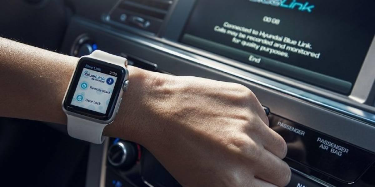 Hyundai lanza aplicación para controlar sus autos desde Apple Watch