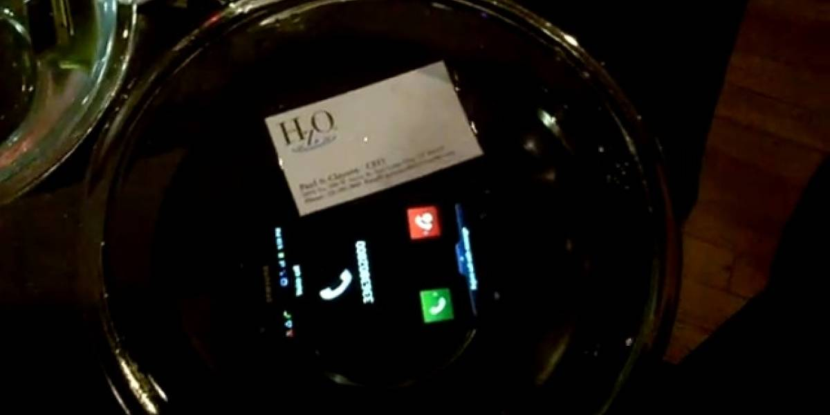 CES 2012: HzO muestra la tecnología que hace que tu smartphone sea anti-agua