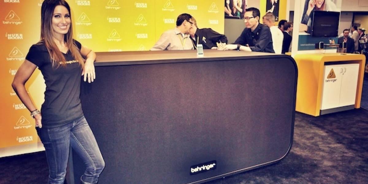 CES 2012: iNuke Boom de Behringer es el audio dock más potente del mundo