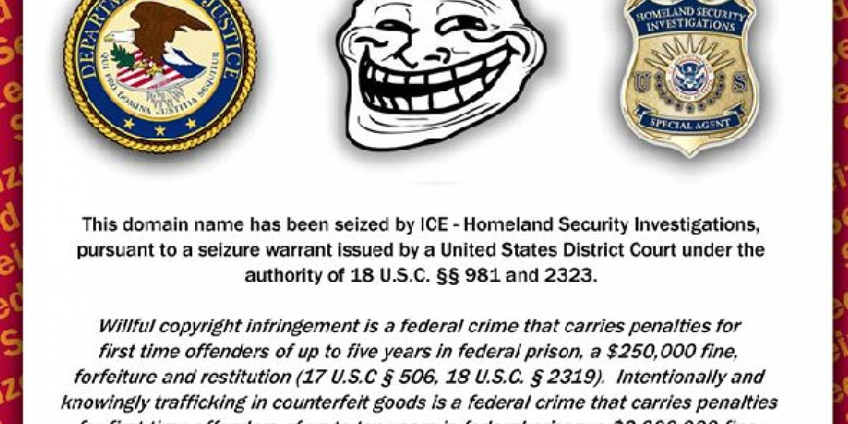 ICE cierra numerosos dominios por infracciones al copyright