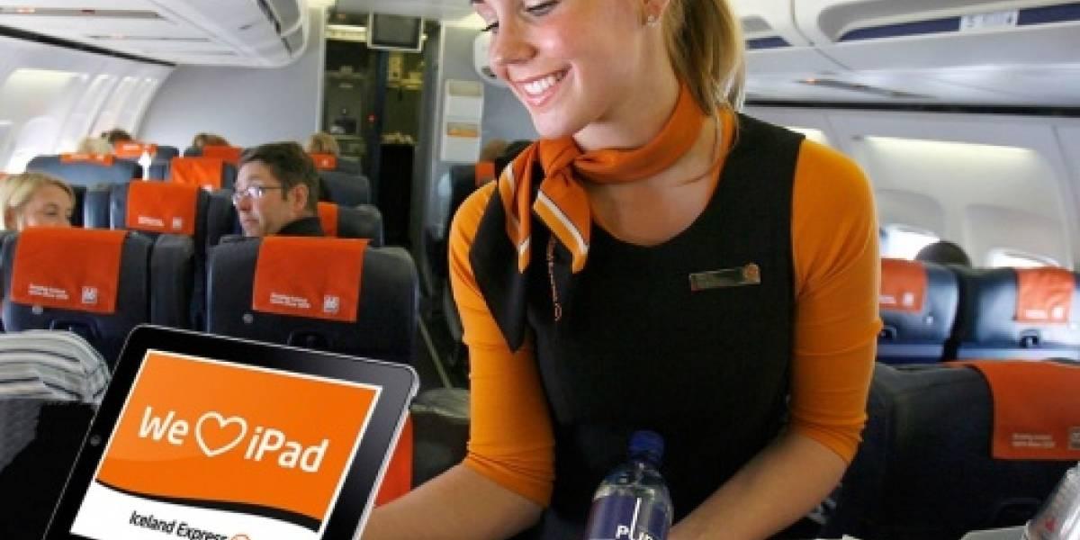 Usa tu iPad para secuestrar un avión