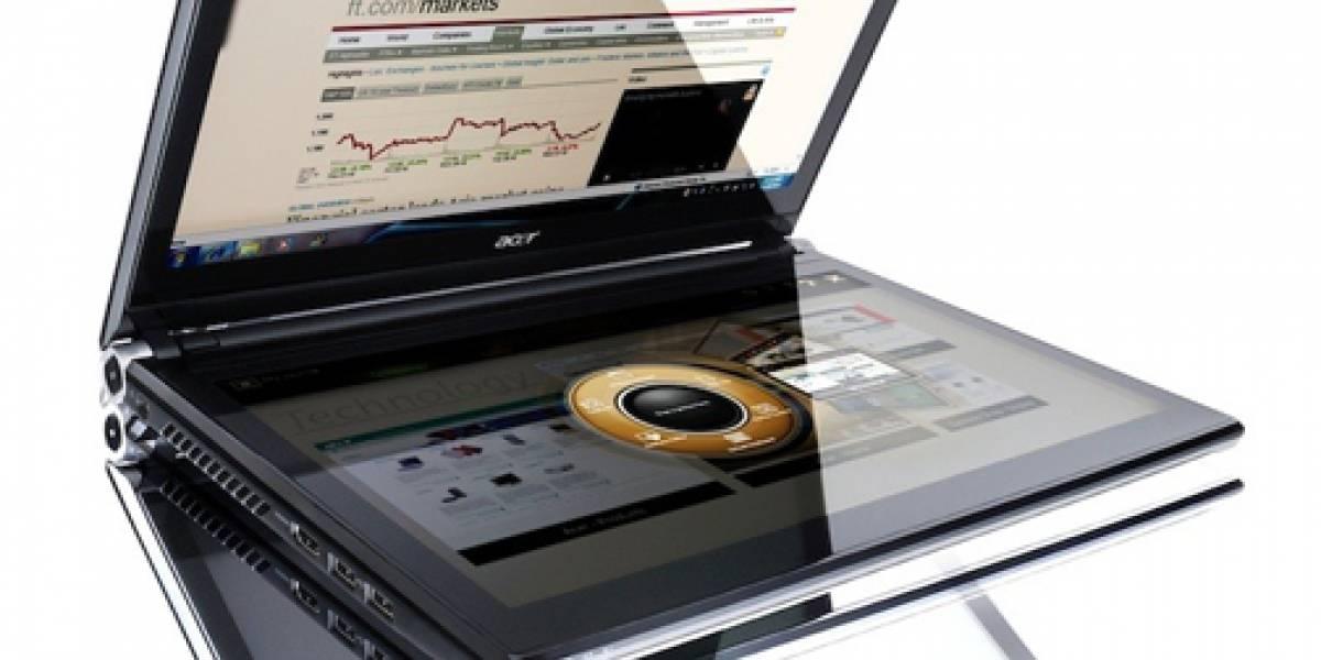 Acer Iconia, el híbrido entre tablet y portátil, aterriza en España