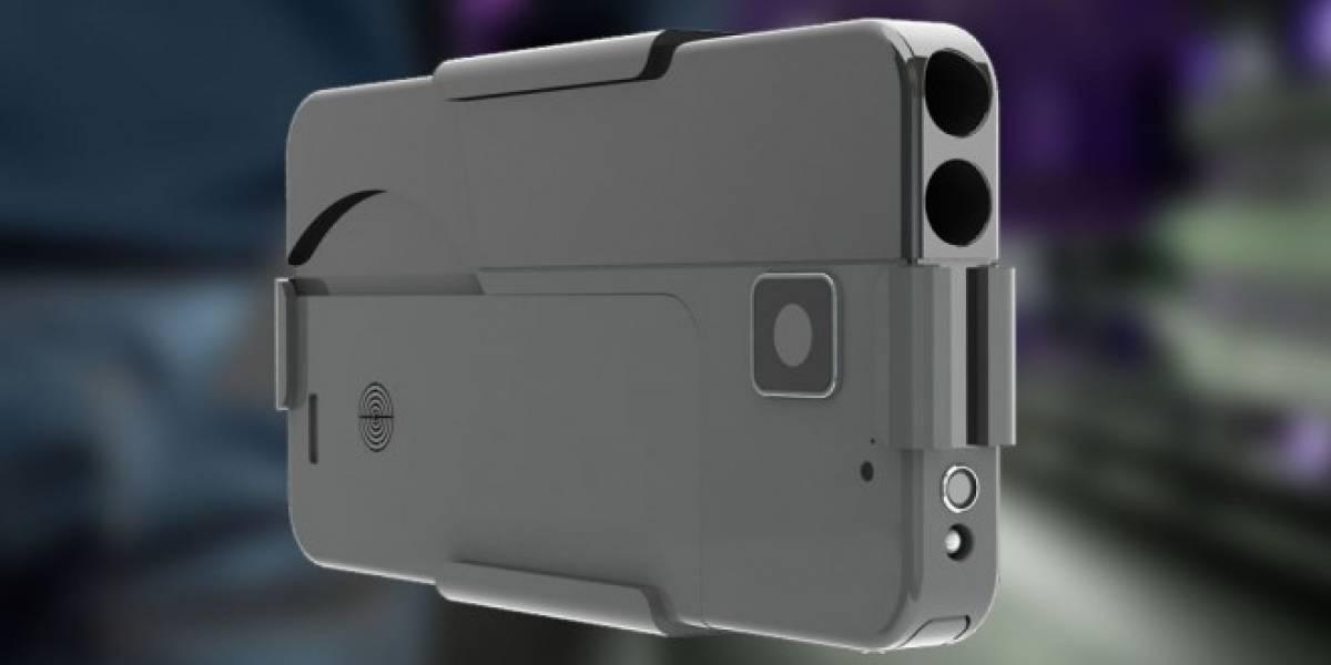Ideal Conceal es una pistola que aparenta ser un smartphone
